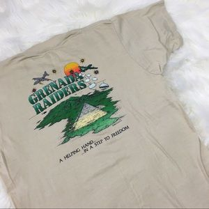 '83 Grenada Raiders War Single Stitch Tee